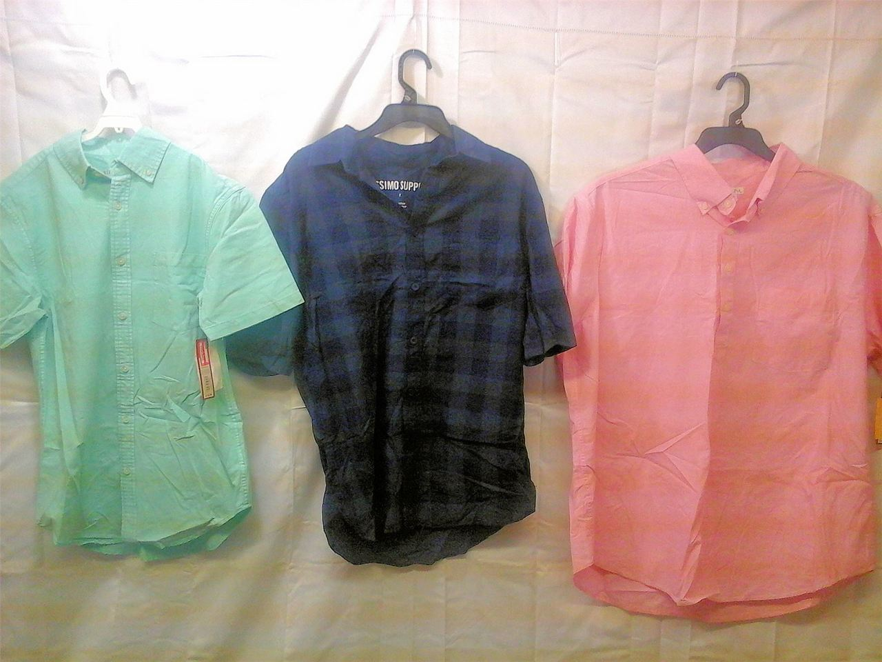 Wholesale Lot of Mens CLOTHING Brand New shirts shorts blazers jackets More Lot 1 Manifested