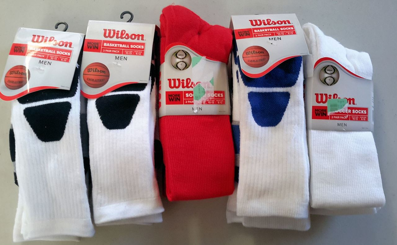 Wholesale Lot of 24 Packaged Sport Socks Basketball SOCCER Brand New
