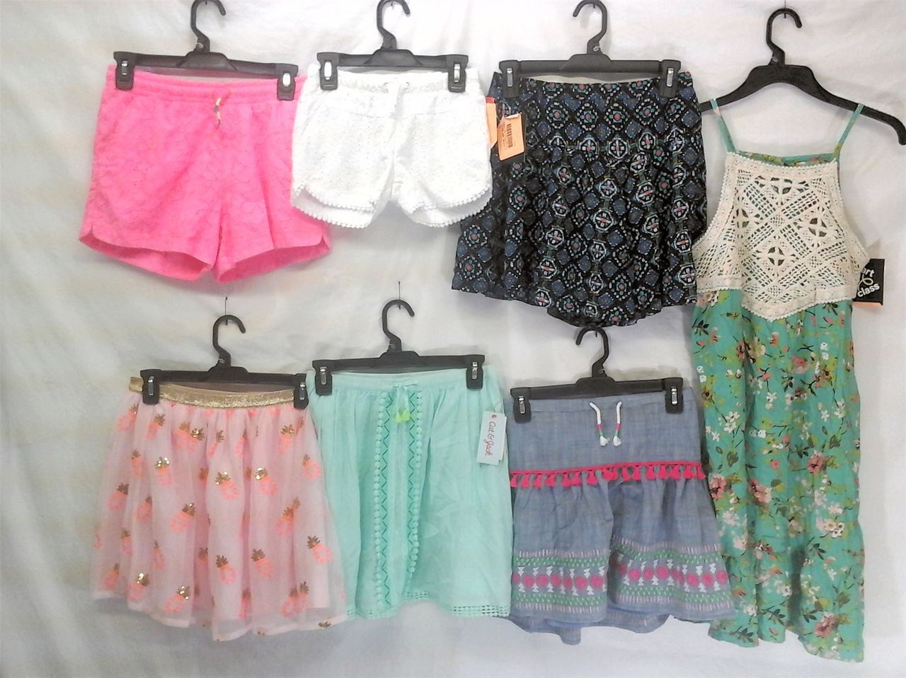 Wholesale Lot of Assorted Brand New Childrens Girl CLOTHING 100 pieces