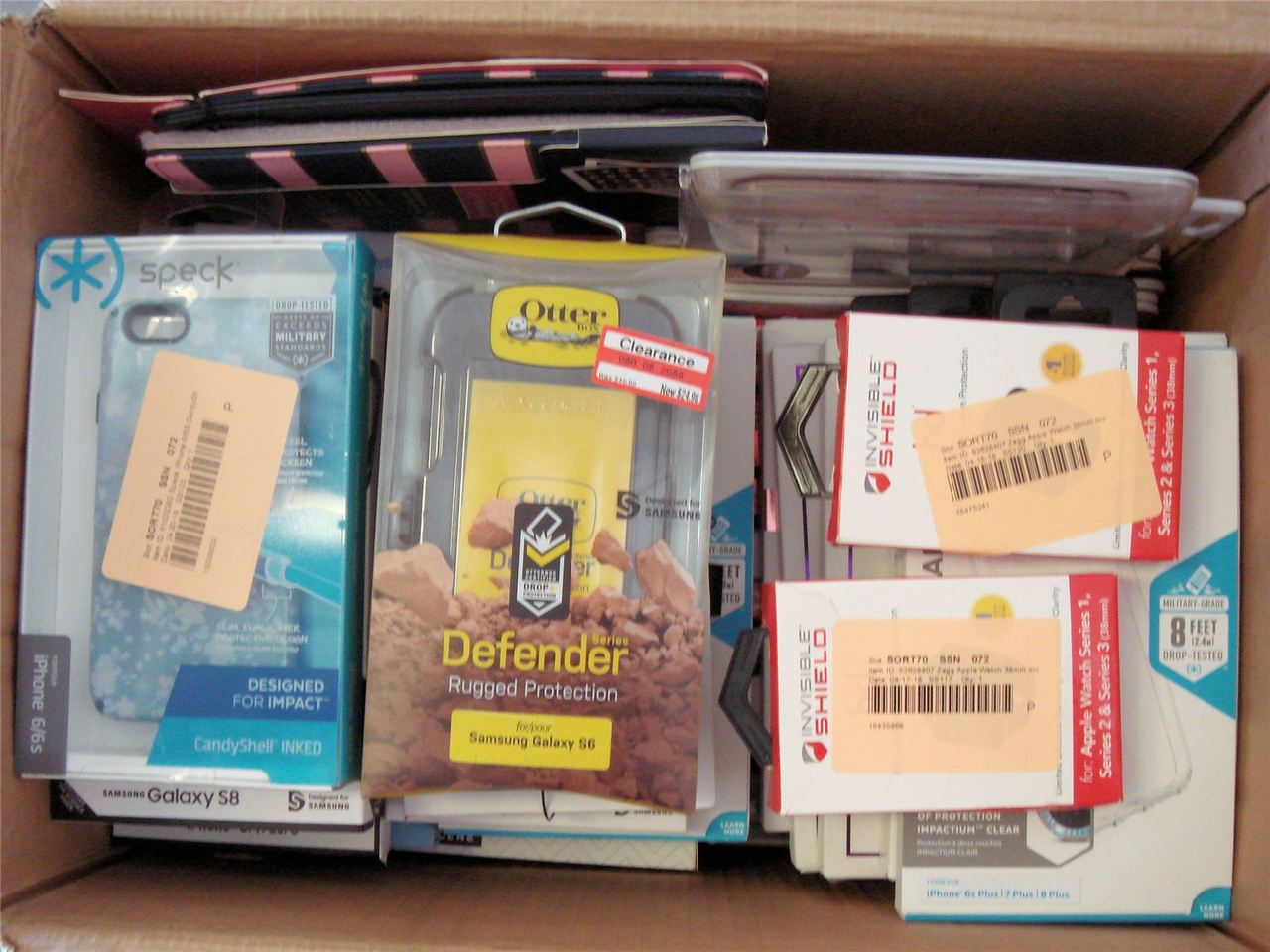 ''Wholesale Lot of Brand New CELLPHONE Tablet Cases IPHONE Samsung Lifeproof, Otter box, Zagg, Speck