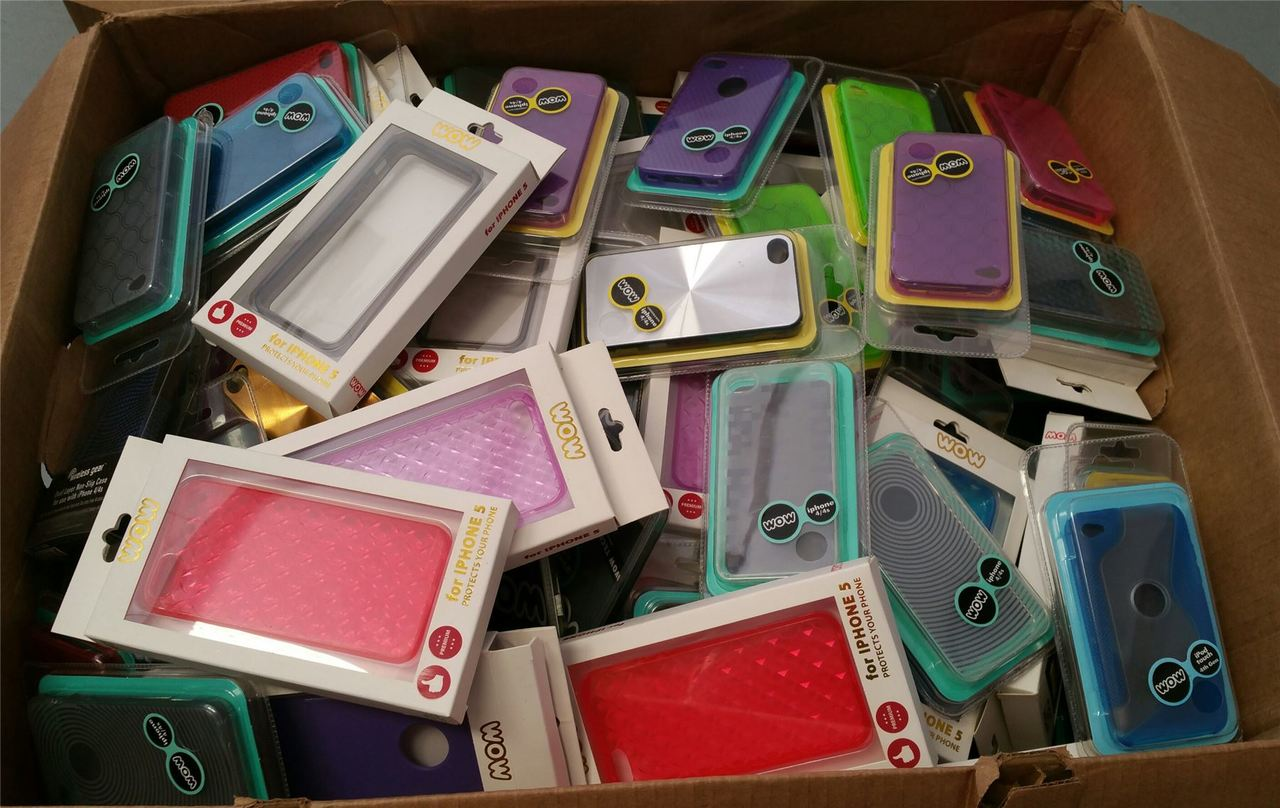 ''Wholesale Lot Assorted CELL PHONE Cases IPHONE, Ipod, Galaxy & More''