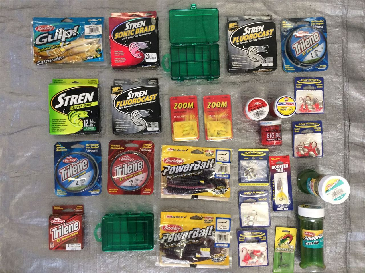 ''Wholesale Lot of Assorted FISHING Items, Bait, Hooks, Lures, TACKLE and More''