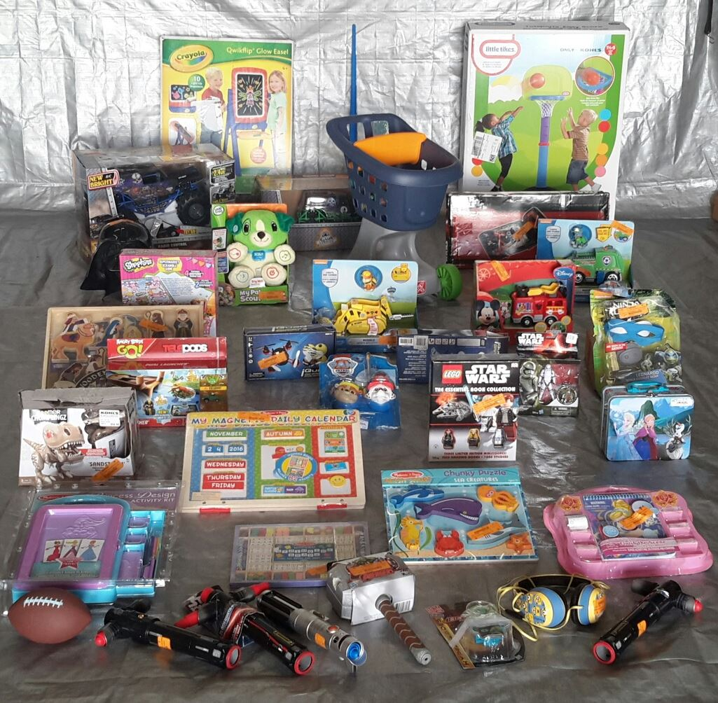 Wholesale Lot Manifested 41 Kids TOYS & Collectibles! Lot #19