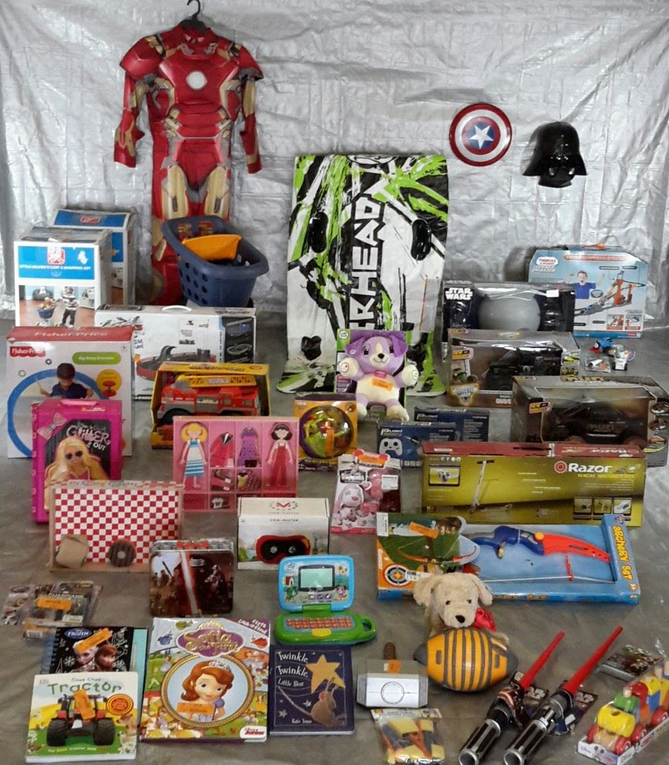 Wholesale Lot Manifested 41 Kids TOYS & Collectibles! Lot #25
