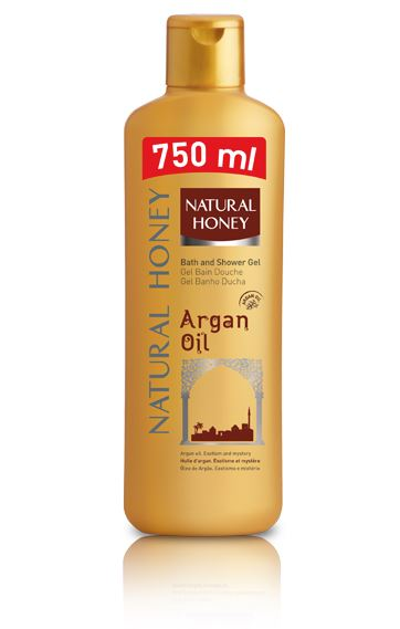 Wholesale Case of 12 Revlon Natural Honey Elixir de Argán Gel de Ducha BODY Wash