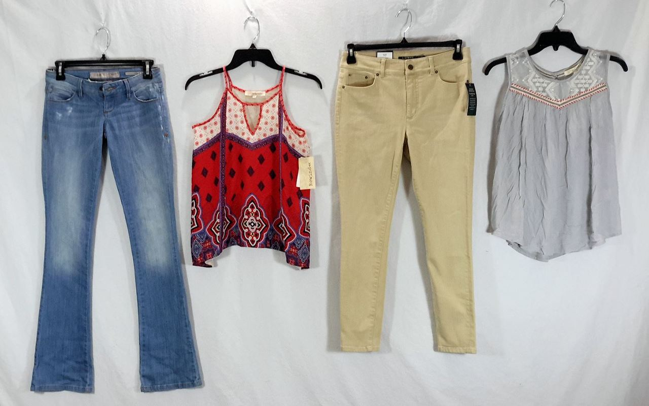 Wholesale Lot of 72 High End Womens Apparel CLOTHING Mixed Brands Sizes Styles NEW Manifested #2