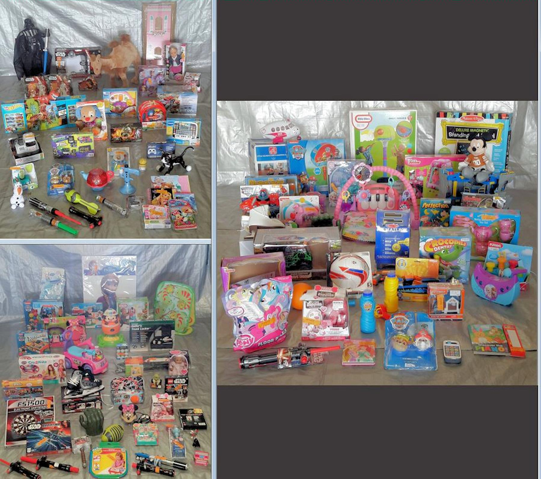 Wholesale Manifested Pallet of Kids TOYS & Collectibles 121 items Pallet #3